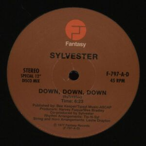 Sylvester ‎– Down, Down, Down / Over And Over